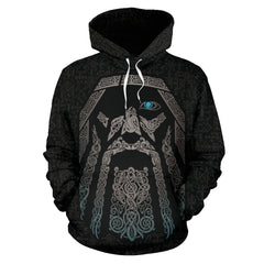 Viking Odin Hoodie All Over Print