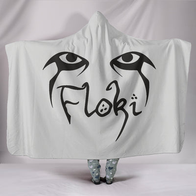 Viking Floki Hooded Blanket
