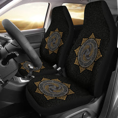 Viking Symbol Car Seat Covers