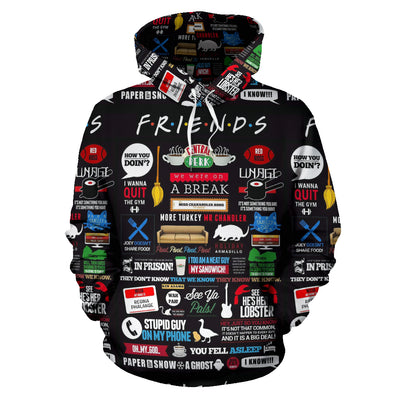 FRIENDS Hoodie All Over Print
