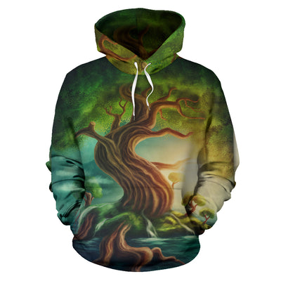 World Tree Hoodie All Over Print
