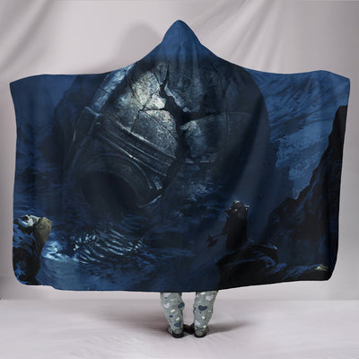 Vikings Wolves of Migard Hooded Blanket