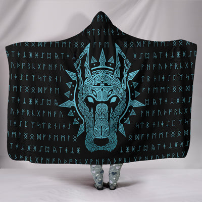 Garmr Hellhound Hooded Blanket