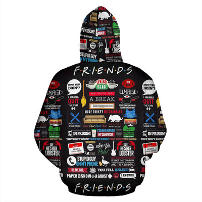 FRIENDS Zip Up Hoodie