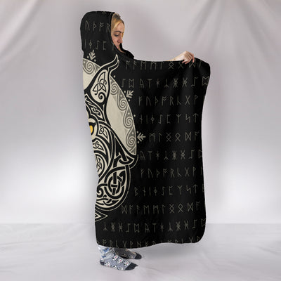 Mistress of Night Hooded Blanket