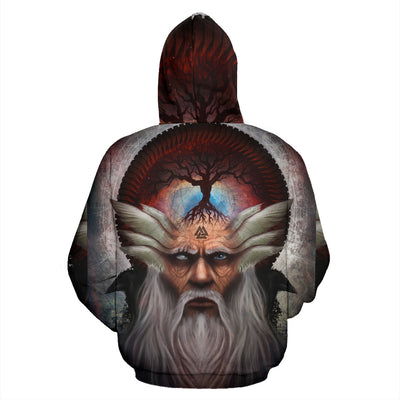 Odin Hoodie All Over Print