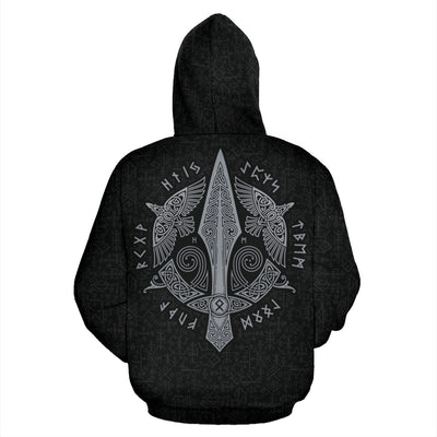 Viking Gungnir Hoodie All Over Print
