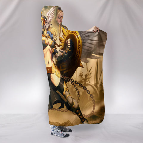 Valkyrie Hooded Blanket