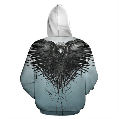 Raven Hoodie All Over Print