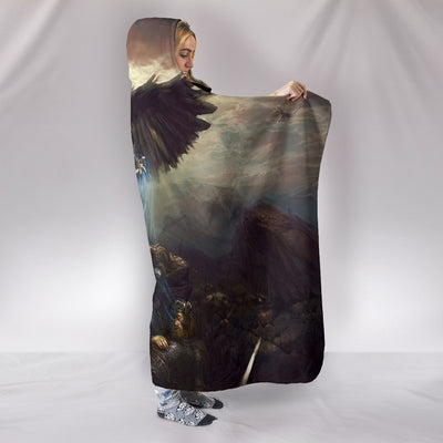 Viking Valkyrie Hooded Blanket
