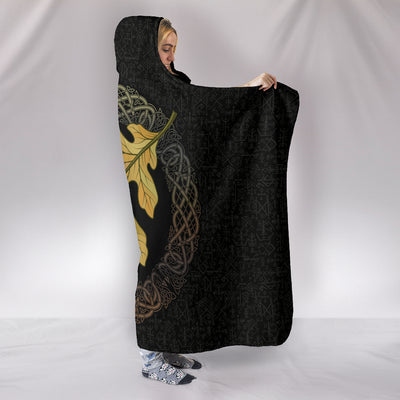 Oak Leaf Hooded Blanket