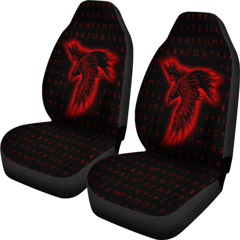Viking Raven Car Seat Covers