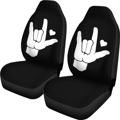 I Love You ASL Car Seat Covers