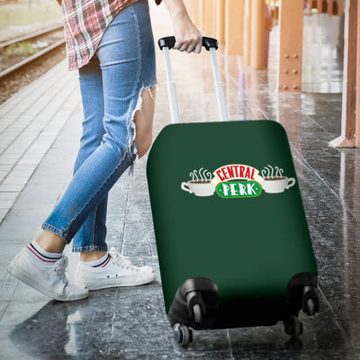 Central Perk Luggage Cover