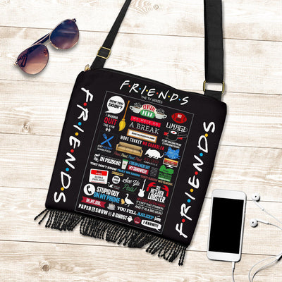 Friends Crossbody Boho Handbag