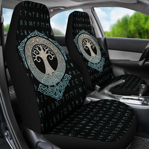 Yggdrasil Tree Of Life Car Seat Covers