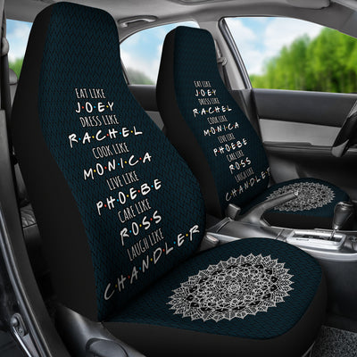 Eat like Joey dress like Rachel Car Seat Covers