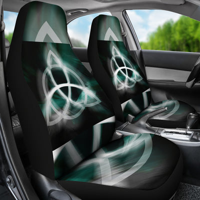 Viking Norse symbol for Odin Car Seat Covers