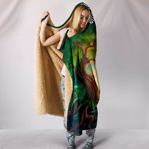 World Tree Hooded Blanket