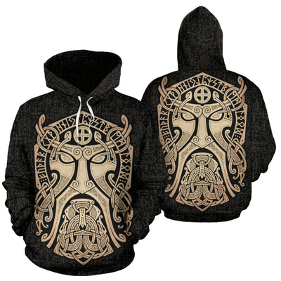 Thor Godmask Hoodie All Over Print
