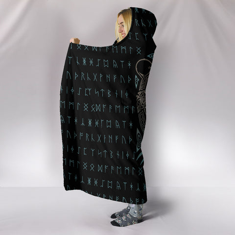 Forest Lord  Hooded Blanket