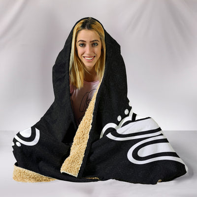 LOVE ASL Hooded Blanket