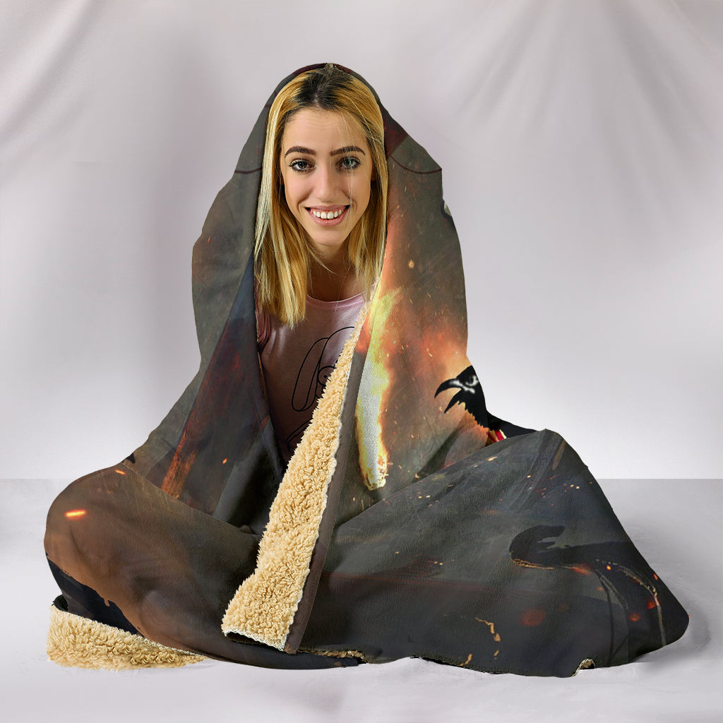 Honor Viking Hooded Blanket