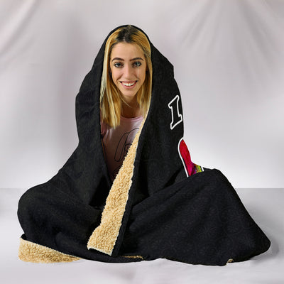 I Love You More Hooded Blanket