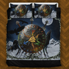 Viking Raven Wolf Bedding Set