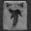 Raven Black Bedding Set