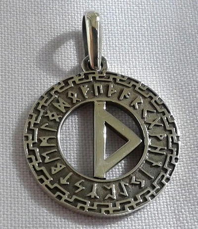 Viking Alphabet Necklace