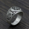 Image of Viking Symbol Ring