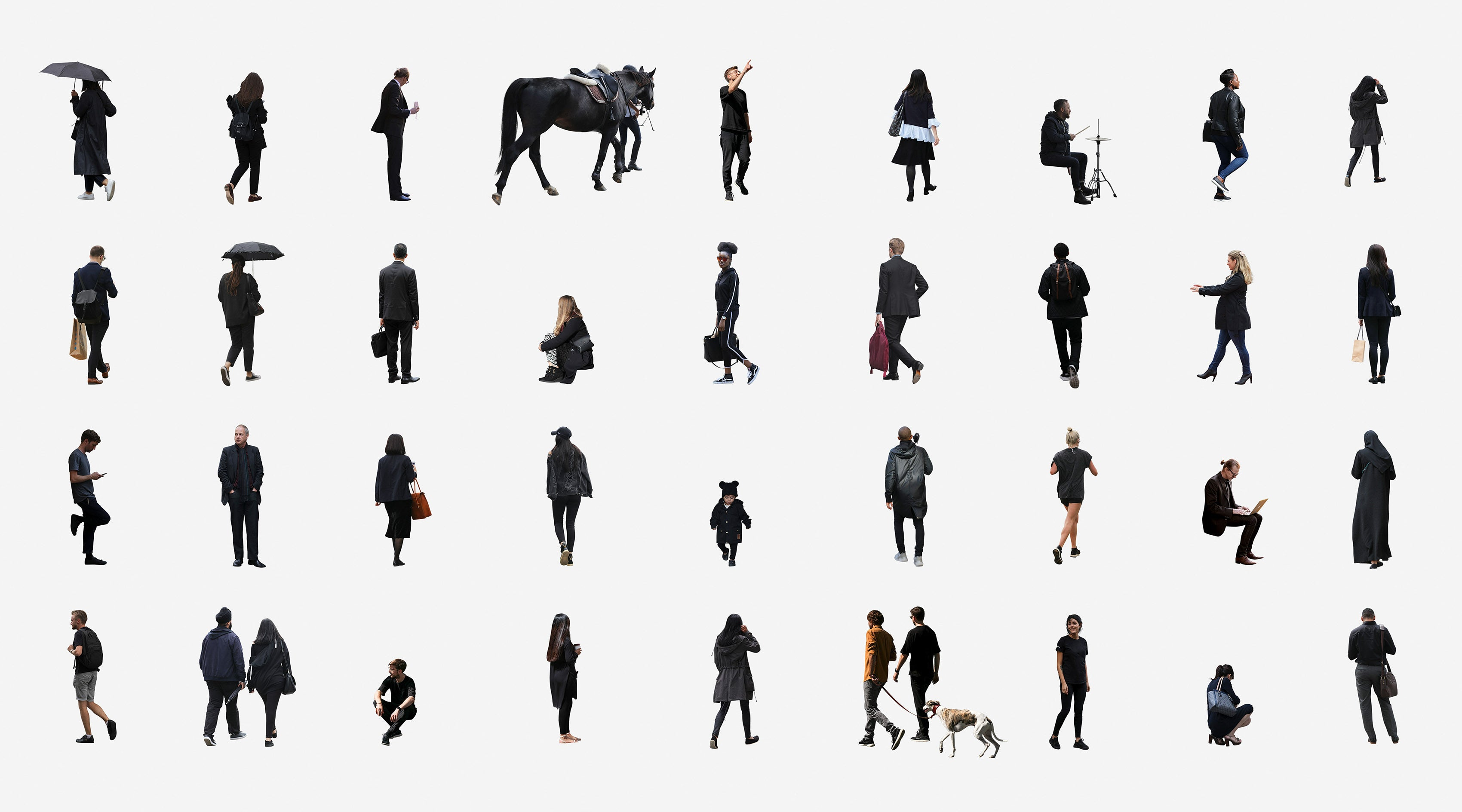 professional cutout library 8000 hi res cut out people studio