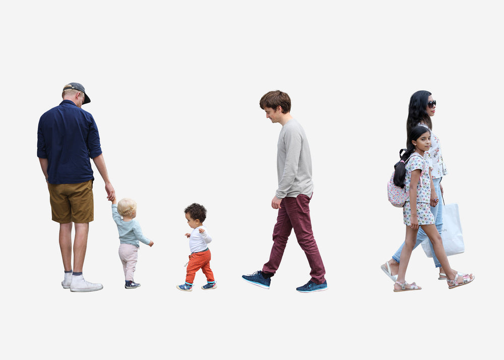 cutout people packages by studio esinam