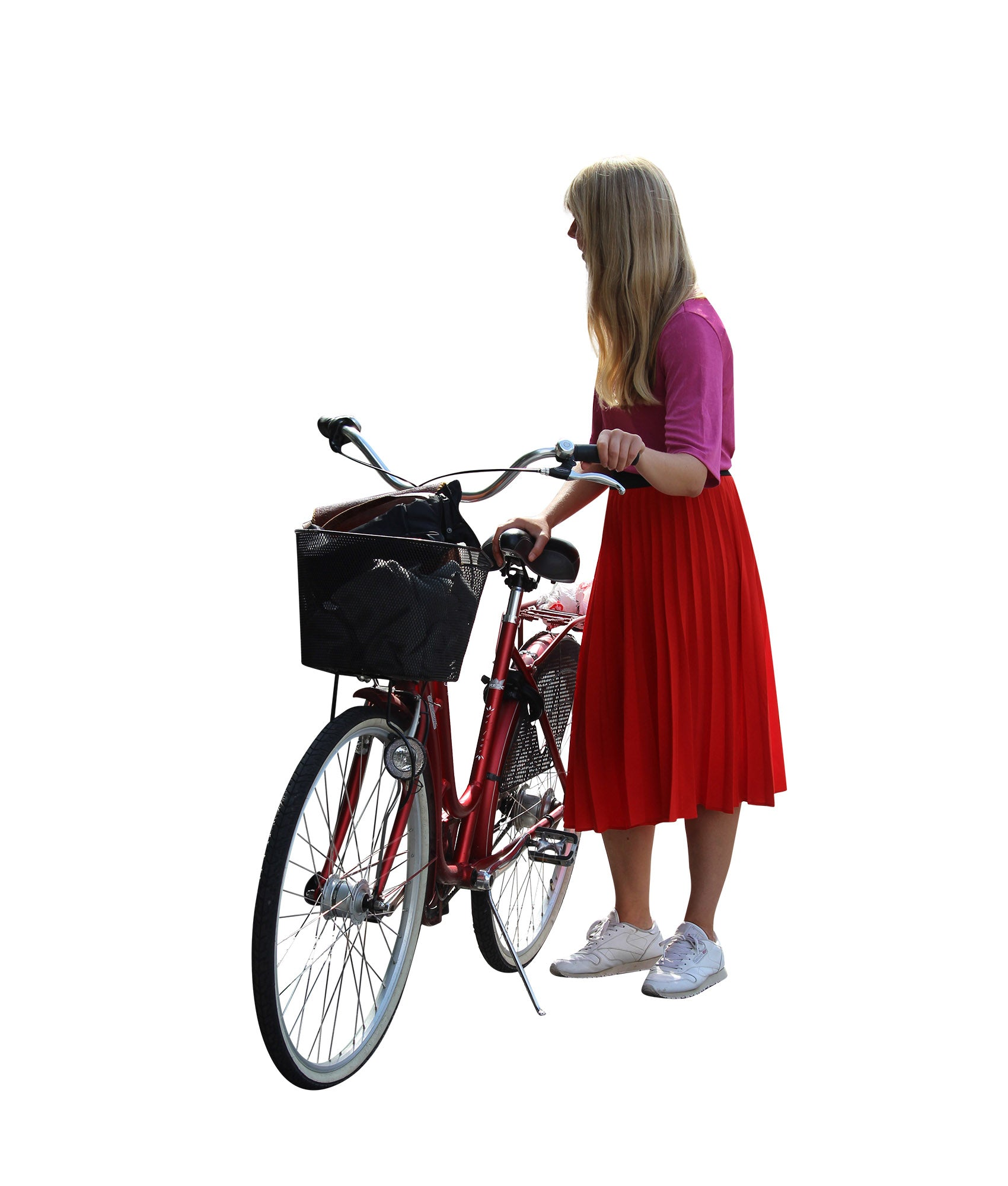 Cutout People Package - Biking