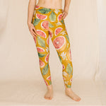 Hemp Legging | Golden Grapefruit
