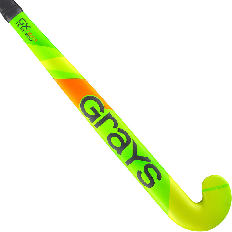 Grays GX1000 Ultrabow Fluo Green 2020 Back Green Yellow