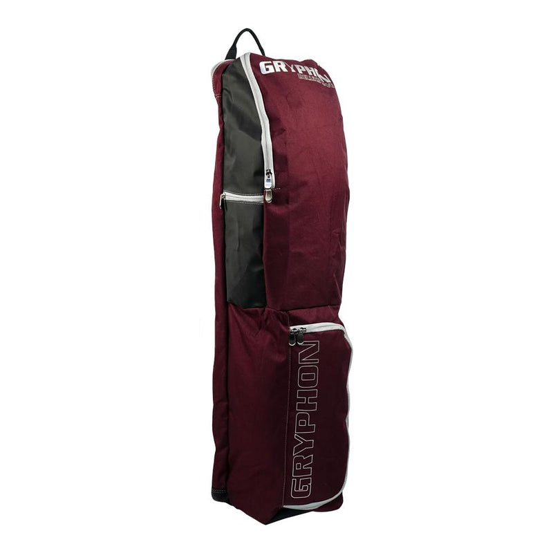 Gryphon Hockey Deluxe Dave 2020 Burgundy Zip Side