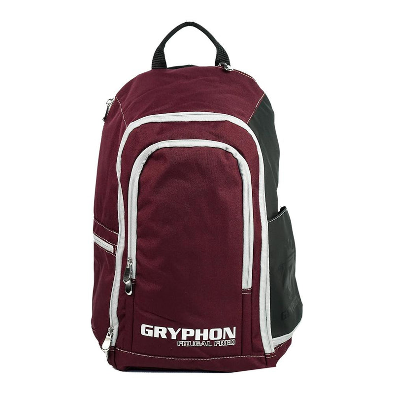 Gryphon Hockey Frugal Fred 2020 Burgundy Front