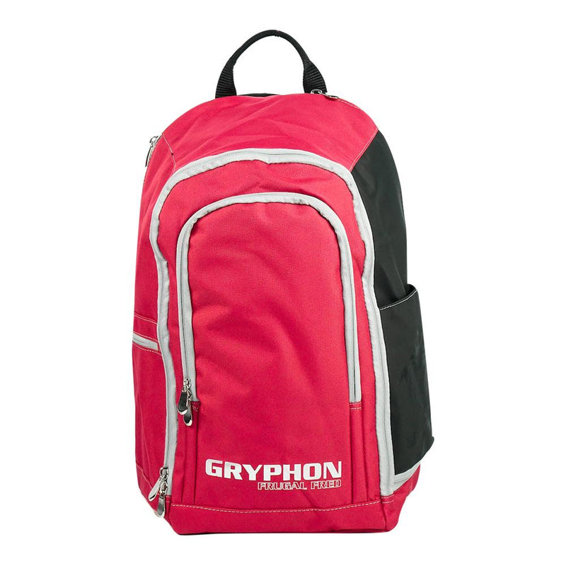 Gryphon Hockey Frugal Fred 2020 Red Front