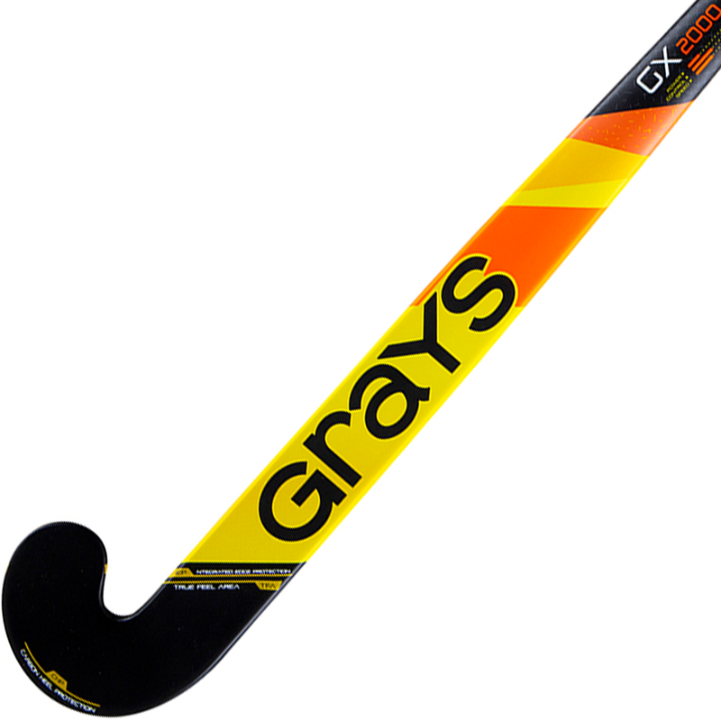 Grays GX2000 Ultrabow Jr. 2019 Yellow Black Face