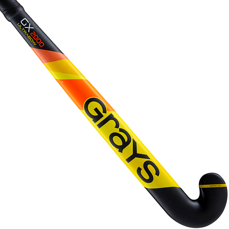Grays GX2000 Ultrabow 2019 Yellow Black Back