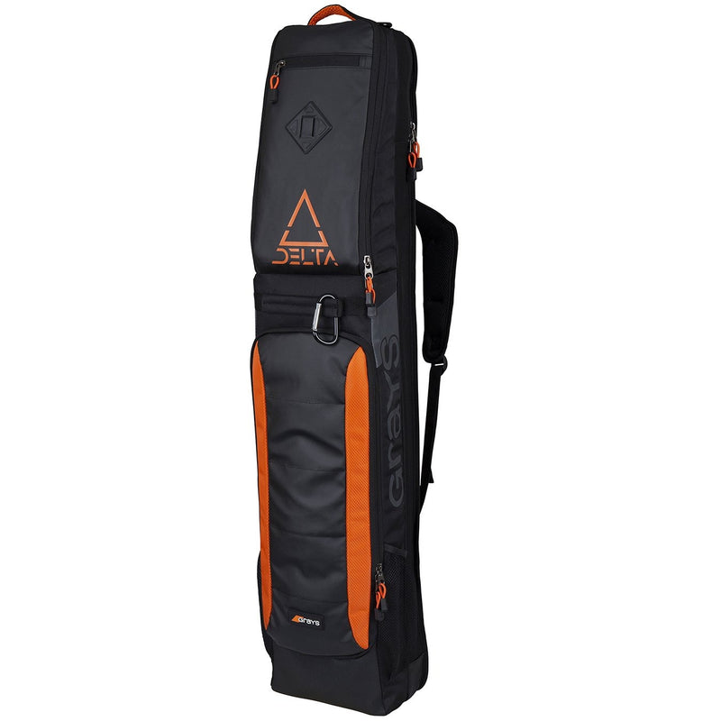 Grays Delta Stick Bag 2019 Black Orange Front