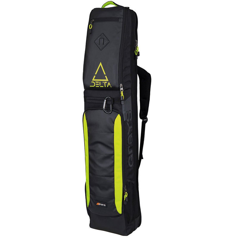 Grays Delta Stick Bag 2019 Black Fluo Yellow Front