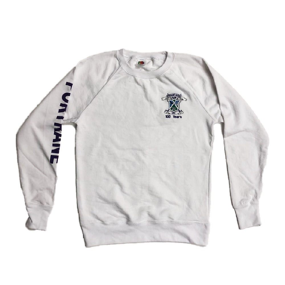 Portrane HC Crew Neck White
