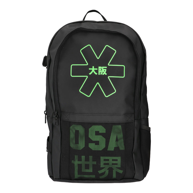 OSAKA Hockey Iconic Black Pro Tour Backpack Large 2020 Front