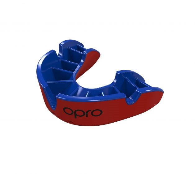 OPRO Self-Fit GEN3 Senior Silver Red/Blue