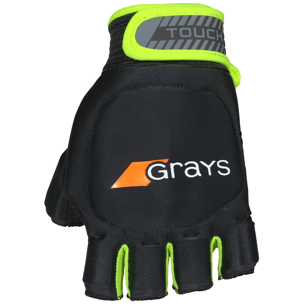 Touch Glove Black | Fluro Yellow LH (2018)