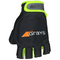 Touch Glove Black | Fluro Yellow LH