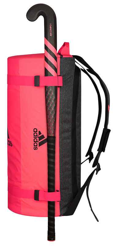 Adidas Hockey VS2 Hockey Holdall 2020 Pink With Stick